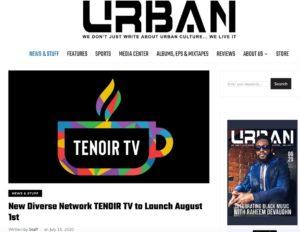 urban magazine cover