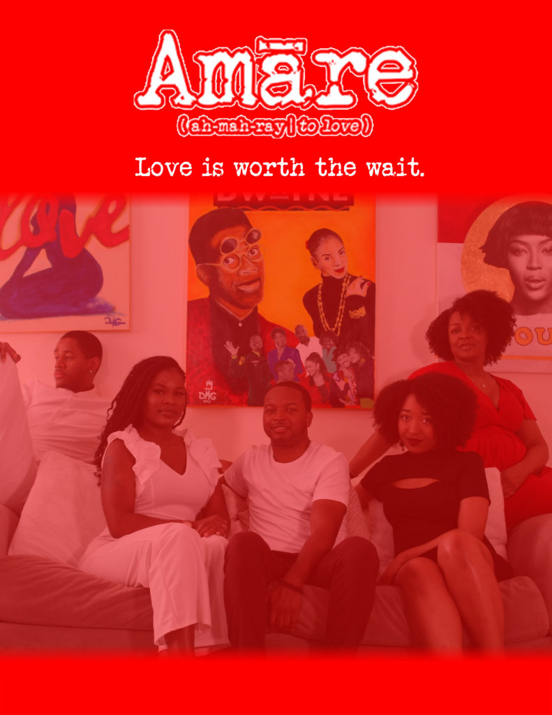 Amare series poster